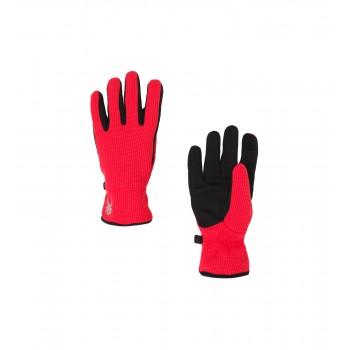 Фото Перчатки горнолыжные BANDITA STRYKE (185084-674), Цвет - красный, черный, Горнолыжные перчатки