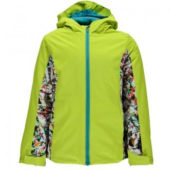 Фото Куртка горнолыжная GIRL'S CHARM (235322-725), Цвет - желтый, Горнолыжные