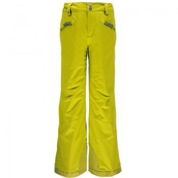 Фото Брюки горнолыжные GIRL'S VIXEN TAILORED (235329-725), Цвет - желтый, Горнолыжные