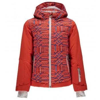 Фото Куртка горнолыжная Girl's Moxie (239008-639), Цвет - коралловый, оранжевый, Горнолыжные и сноубордные