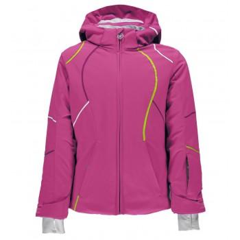 Фото Куртка горнолыжная Girl's Tresh (239010-678), Цвет - розовый, черный, белый, Горнолыжные и сноубордные