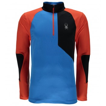 Фото Фуфайка Charger Thermastretch (417065-434), Цвет - синий, черный, оранжевый, Регланы