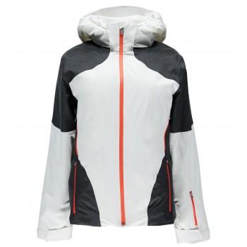 Фото Куртка горнолыжная Rhapsody (564232-100), Цвет - белый, черный, Горнолыжные и сноубордные