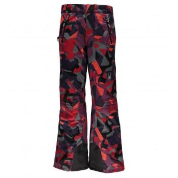 Фото Брюки горнолыжные Winner Tailored (564237-610), Цвет - красный принт, Горнолыжные и сноубордные