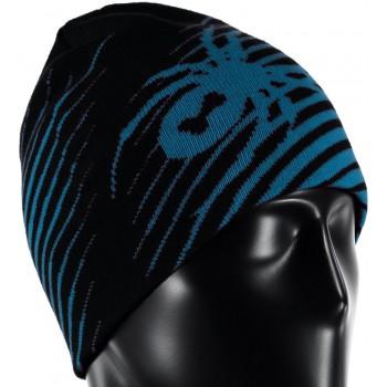 Фото Шапка Throwback (626302-017), Цвет - черный, синий, Шапки и повязки