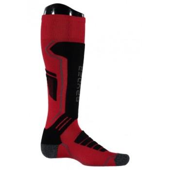Фото Носки горнолыжные Sport Merino (626902-600), Цвет - красный, черный, серый, Носки
