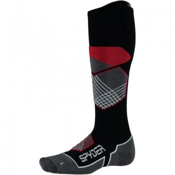 Фото Носки EXPLORER (626904-001), Цвет - черный, красный, белый, Носки