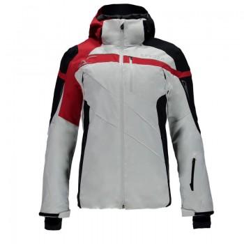 Фото Куртка горнолыжная TITAN (783304-100), Цвет - белый, черный, красный, Горнолыжные куртки