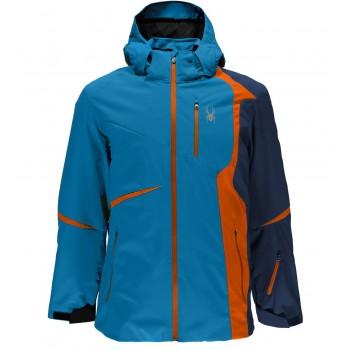 Фото Куртка горнолыжная Gstaad (783362-434), Цвет - синий, оранжевый, Горнолыжные и сноубордные