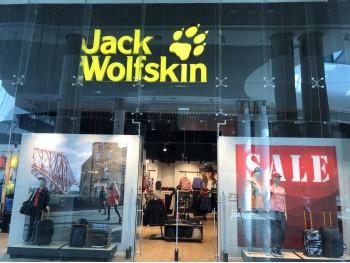Магазин Jack Wolfskin в ТРЦ Ocean Plaza (Киев)
