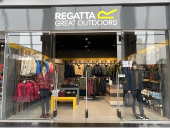 Магазин Regatta в ТРК «Plaza Sport Outlet» (Киев)