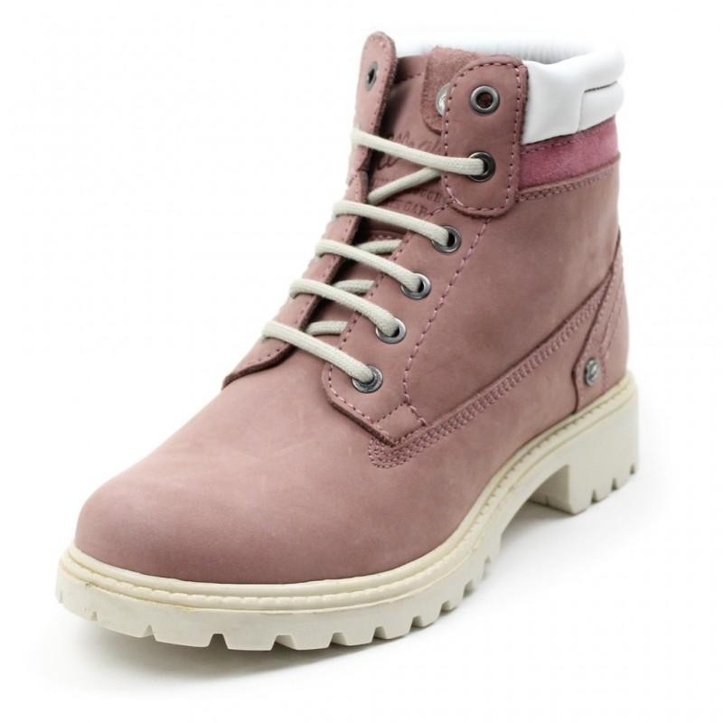Купить Городские ботинки, Ботинки creek (WL172500-525), Wrangler, Розовый, Осень, Зима, Осень-Зима 2017-2018