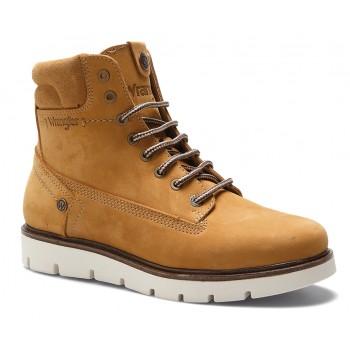 Фото Ботинки TUCSON LADY NUBUCK FUR S (WL182514-024), Цвет - бежевый, Городские ботинки