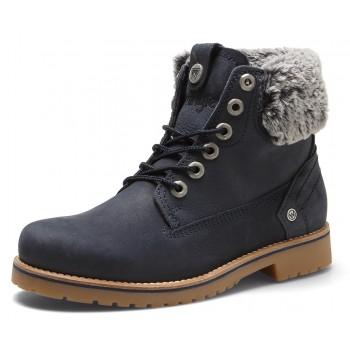 Фото Ботинки CREEK ALASKA FUR S (WL182515-016), Цвет - темно-синий, Городские ботинки