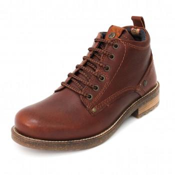 Фото Ботинки HILL (WM172010-230), Цвет - темно-красный, Городские ботинки