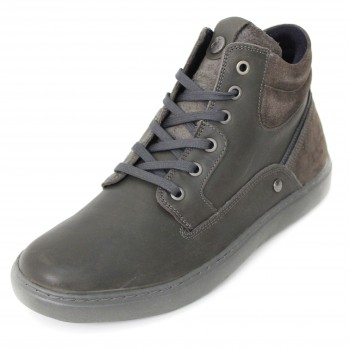 Фото Ботинки HISTORIC (WM172020-96), Цвет - темно-серый, Городские ботинки