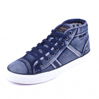 Фото Кеды Starry Mid Denim (WM181032-100), Цвет - синий, Кеды
