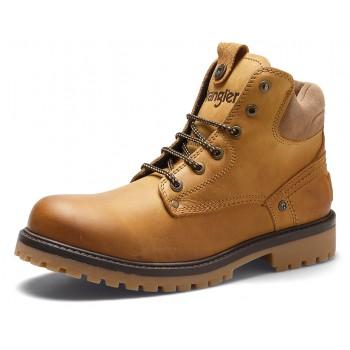 Фото Ботинки YUMA (WM182004-071), Цвет - бежевый, Городские ботинки