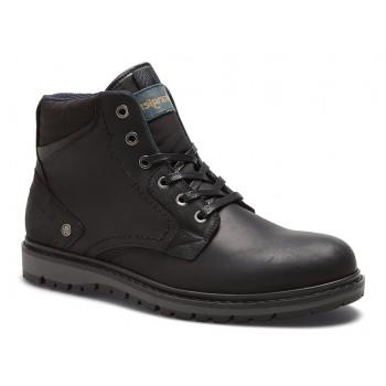 Фото Ботинки MIWOUK (WM182030-062), Цвет - черный, Городские ботинки