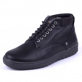 Фото Ботинки HISTORIC CHUKKA FUR S (WM182064-062), Цвет - черный, Городские ботинки