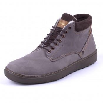 Фото Ботинки HISTORIC CHUKKA NUBUCK FUR S (WM182065-029), Цвет - серо-коричневый, Городские ботинки